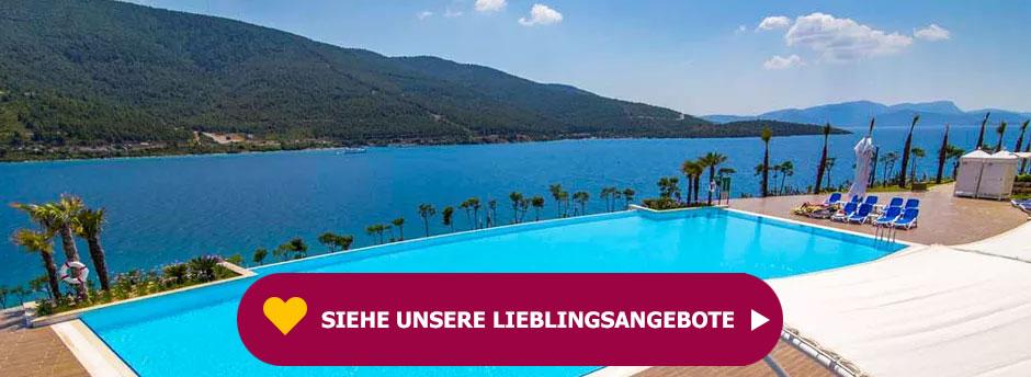 Entdecken Sie unser beliebtestes Angebot für Ihren Urlaub in der Türkei.