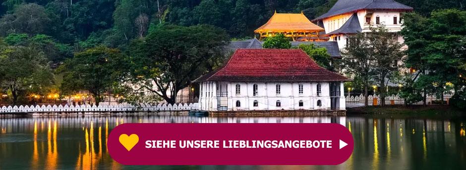 Entdecken Sie unser Lieblingsangebot für Ihren Urlaub in Sri Lanka